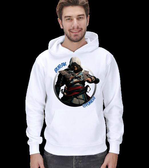 Kapşonlu - Assassins Creed 4 Tasarım Erkek Kapşonlu Kapşunlu Assassins Creed 4 Tasarım 131121180841882522479027-