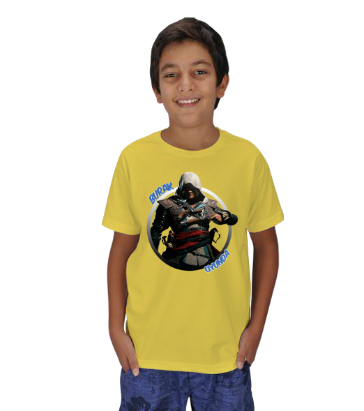 Assassins Creed 4 Tasarım - Çocuk Çocuk Unisex Assassins Creed 4 Tasarım 131121181257882522471046-